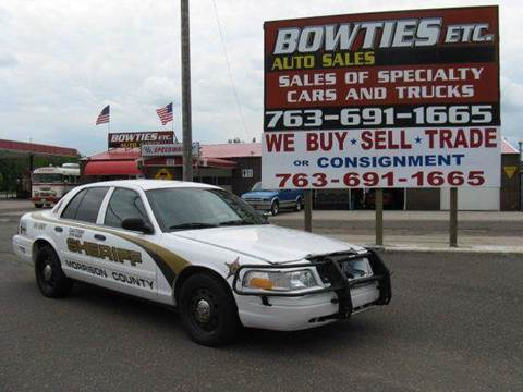 2010 Ford Crown Victoria for sale at Bowties ETC INC in Cambridge MN