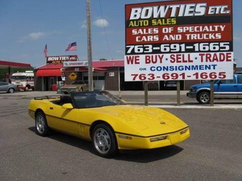 1990 Chevrolet Corvette for sale at Bowties ETC INC in Cambridge MN