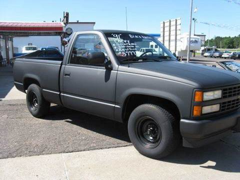 1991 Chevrolet C/K 1500 Series for sale at Bowties ETC INC in Cambridge MN