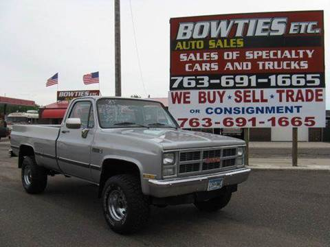 1983 GMC C/K 1500 Series for sale at Bowties ETC INC in Cambridge MN
