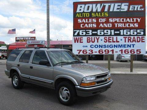 2000 Chevrolet Blazer for sale at Bowties ETC INC in Cambridge MN