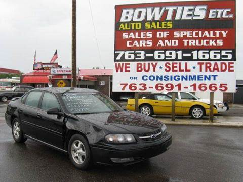 2004 Chevrolet Impala for sale at Bowties ETC INC in Cambridge MN