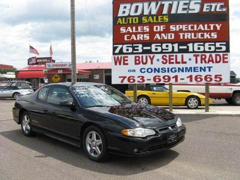 2004 Chevrolet Monte Carlo for sale at Bowties ETC INC in Cambridge MN