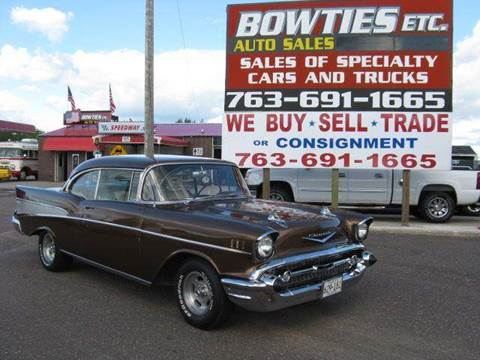 1957 Chevrolet Bel Air for sale at Bowties ETC INC in Cambridge MN