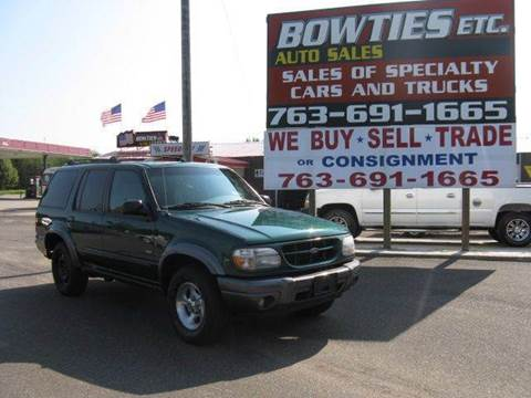 2000 Ford Explorer for sale at Bowties ETC INC in Cambridge MN