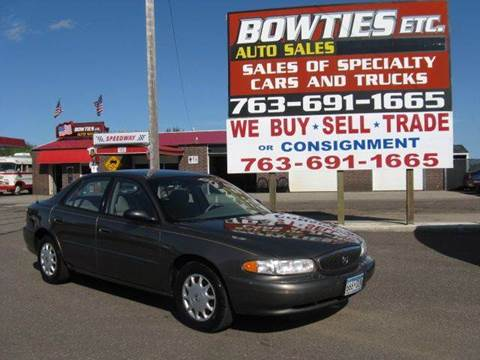 2003 Buick Century for sale at Bowties ETC INC in Cambridge MN
