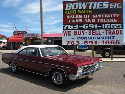 1966 Chevrolet Impala for sale at Bowties ETC INC in Cambridge MN