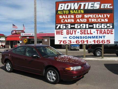 2002 Oldsmobile Alero for sale at Bowties ETC INC in Cambridge MN