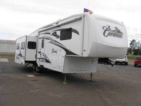 2007 Forest River Cardinal for sale at Bowties ETC INC in Cambridge MN