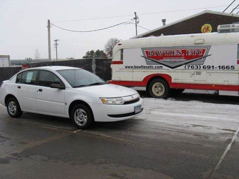 2003 Saturn Ion for sale at Bowties ETC INC in Cambridge MN