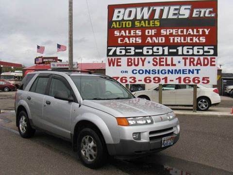 2003 Saturn Vue for sale at Bowties ETC INC in Cambridge MN