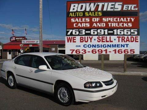 2005 Chevrolet Impala for sale at Bowties ETC INC in Cambridge MN