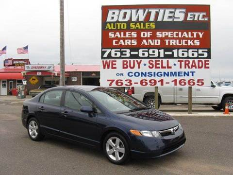 2008 Honda Civic for sale at Bowties ETC INC in Cambridge MN