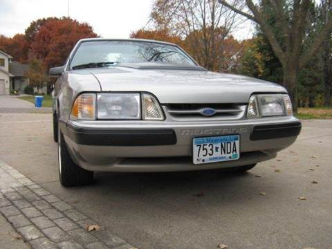1990 Ford Mustang for sale at Bowties ETC INC in Cambridge MN