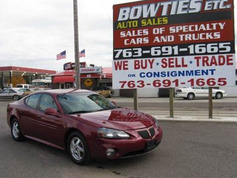 2004 Pontiac Grand Prix for sale at Bowties ETC INC in Cambridge MN