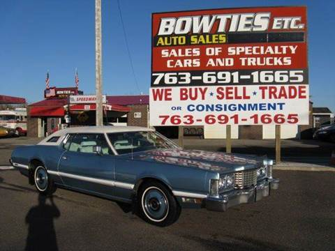 1973 Ford Thunderbird for sale at Bowties ETC INC in Cambridge MN