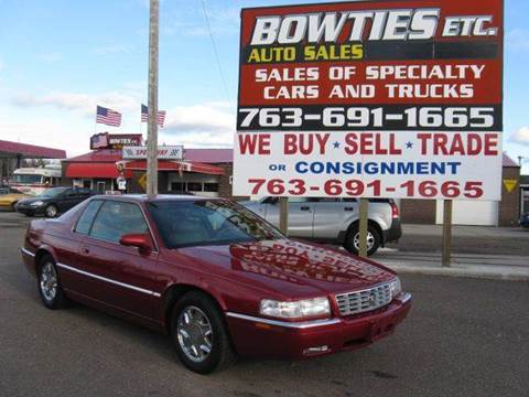 2002 Cadillac Eldorado for sale at Bowties ETC INC in Cambridge MN