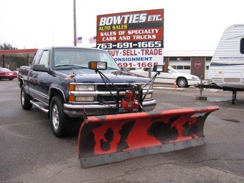 1999 Chevrolet C/K 1500 Series for sale at Bowties ETC INC in Cambridge MN