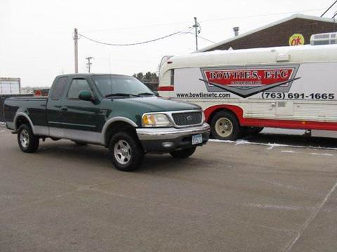 1999 Ford F-150 for sale at Bowties ETC INC in Cambridge MN