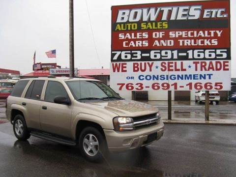 2005 Chevrolet TrailBlazer for sale at Bowties ETC INC in Cambridge MN