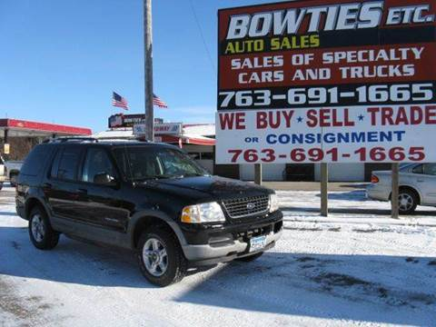 2002 Ford Explorer for sale at Bowties ETC INC in Cambridge MN