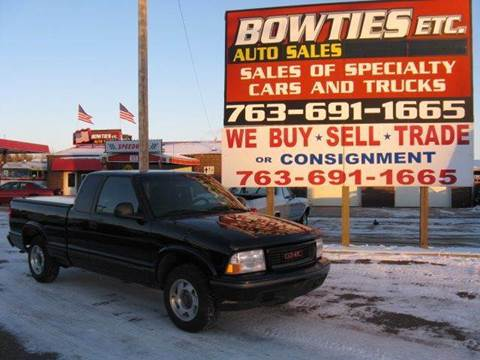 1998 GMC Sonoma for sale at Bowties ETC INC in Cambridge MN
