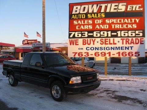 1998 GMC Sonoma for sale at Bowties ETC INC in Cambridge MN