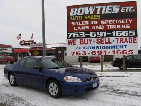 2006 Chevrolet Monte Carlo for sale at Bowties ETC INC in Cambridge MN