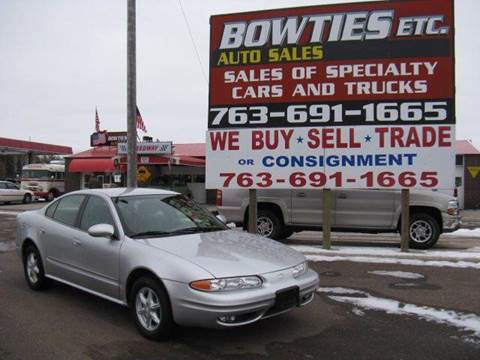 2001 Oldsmobile Alero for sale at Bowties ETC INC in Cambridge MN