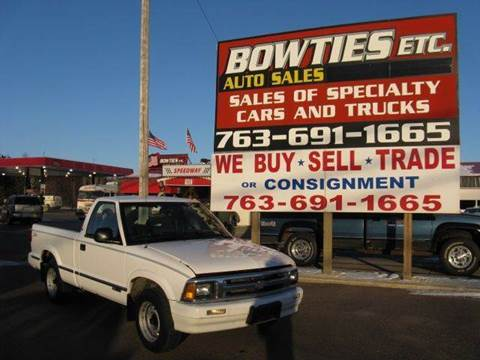 1994 Chevrolet S-10 for sale at Bowties ETC INC in Cambridge MN