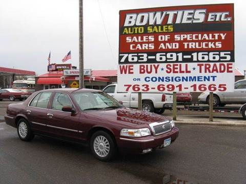 2007 Mercury Grand Marquis for sale at Bowties ETC INC in Cambridge MN