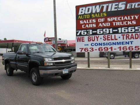 2004 Chevrolet Silverado 2500HD for sale at Bowties ETC INC in Cambridge MN
