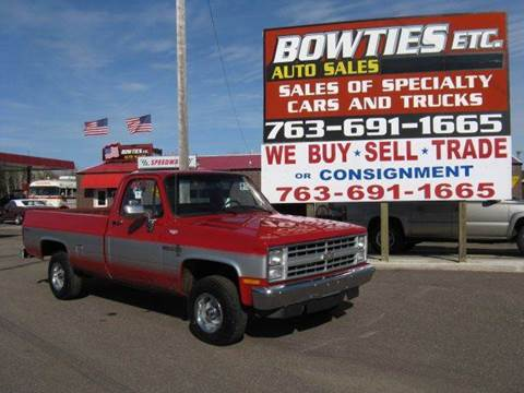1987 Chevrolet R/V 10 Series for sale at Bowties ETC INC in Cambridge MN