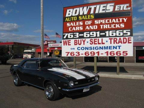 1968 Chevrolet Camaro for sale at Bowties ETC INC in Cambridge MN