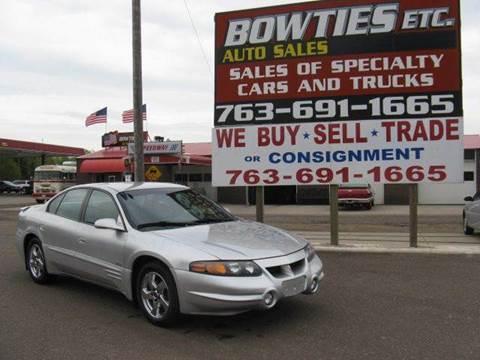 2003 Pontiac Bonneville for sale at Bowties ETC INC in Cambridge MN