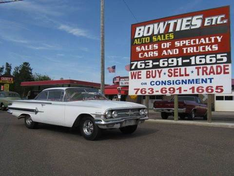 1960 Chevrolet Impala for sale at Bowties ETC INC in Cambridge MN