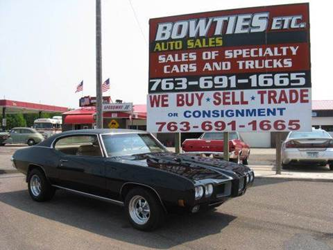 1970 Pontiac GTO for sale at Bowties ETC INC in Cambridge MN