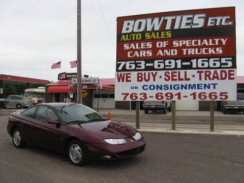 2002 Saturn S-Series for sale at Bowties ETC INC in Cambridge MN