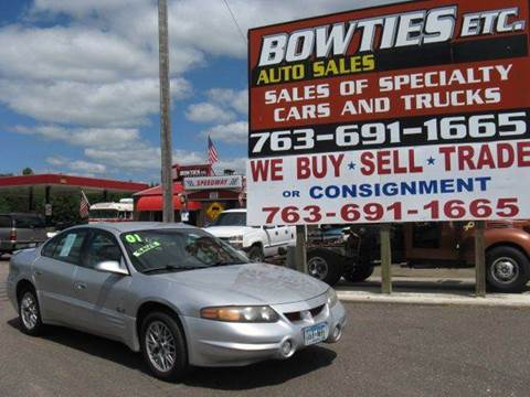 2001 Pontiac Bonneville for sale at Bowties ETC INC in Cambridge MN
