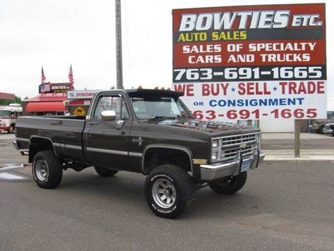 1987 Chevrolet Silverado 2500 for sale at Bowties ETC INC in Cambridge MN