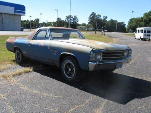 1971 Chevrolet El Camino for sale at Bowties ETC INC in Cambridge MN