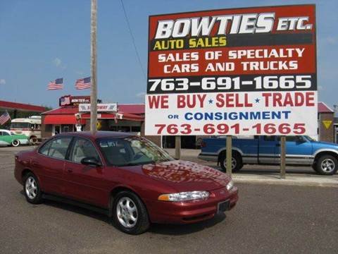 1999 Oldsmobile Intrigue for sale at Bowties ETC INC in Cambridge MN