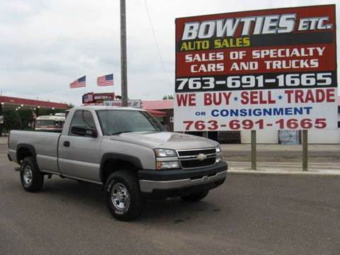 2006 Chevrolet Silverado 2500HD for sale at Bowties ETC INC in Cambridge MN