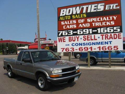 2003 Chevrolet S-10 for sale at Bowties ETC INC in Cambridge MN