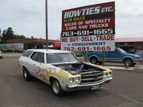 1970 Chevrolet Nomad for sale in Cambridge, MN