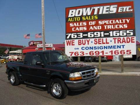 1998 Ford Ranger for sale at Bowties ETC INC in Cambridge MN