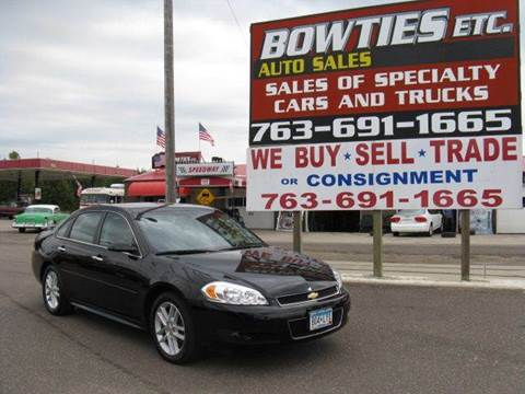 2013 Chevrolet Impala for sale at Bowties ETC INC in Cambridge MN