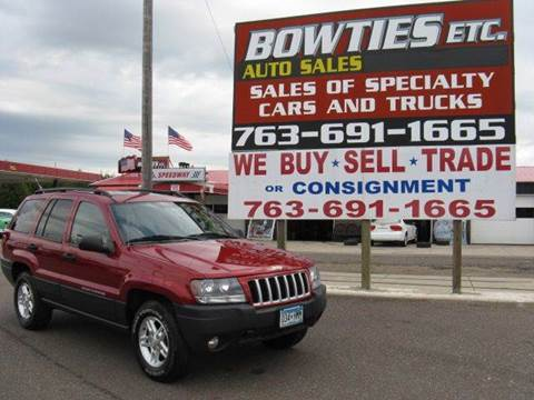 2004 Jeep Grand Cherokee for sale at Bowties ETC INC in Cambridge MN