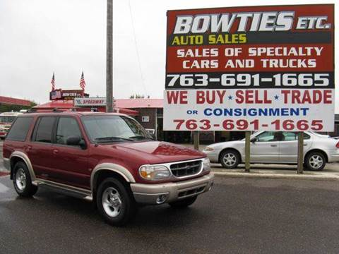 1999 Ford Explorer for sale at Bowties ETC INC in Cambridge MN