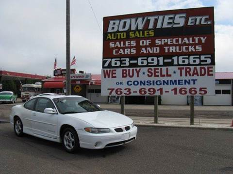 1999 Pontiac Grand Prix for sale at Bowties ETC INC in Cambridge MN